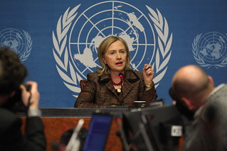 Secretary Clinton Speaks at a Press Conference | by US Mission Geneva