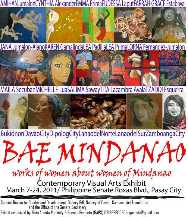 Bae Mindanao - Contemporary Visual Arts Exhibit |