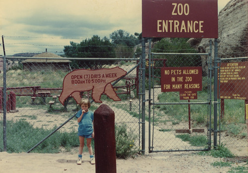 Rebecca Stern Navajo Nation Zoo 1991 | by karenchristine552