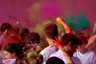 UNC Holi | by rudresh_calls