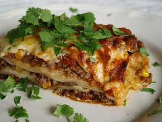 mexican lasagne2 | by Elin B