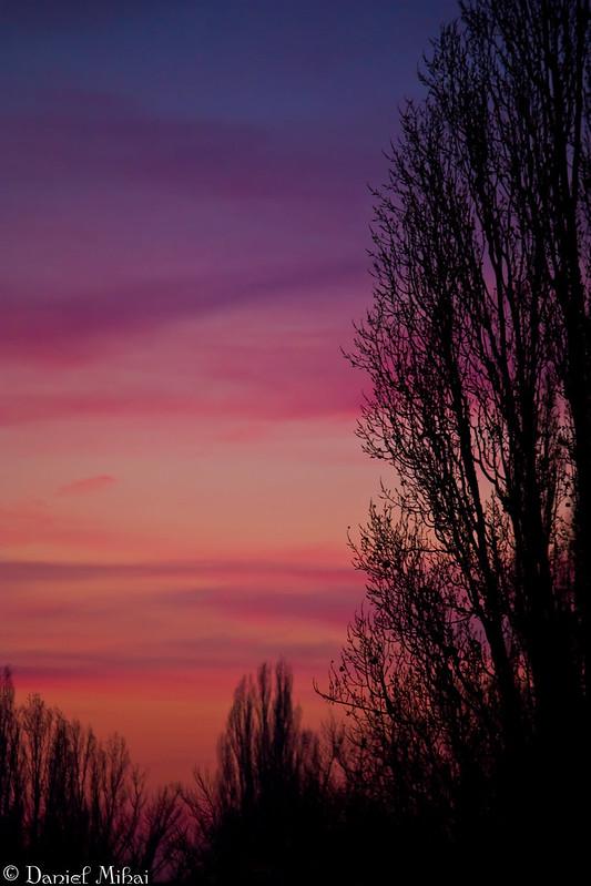 The sky of love by Daniel Mihai