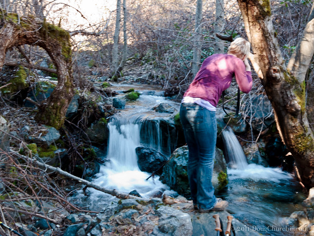Bowers Creek waterfall