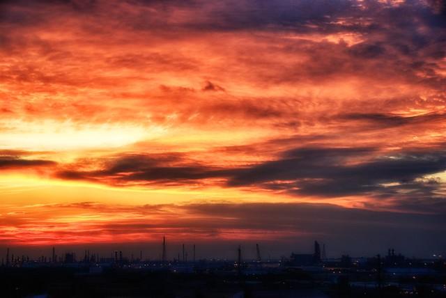 A south Texas sunset