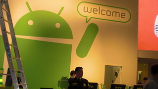 MWC 2011 android - google space | by ubiqua