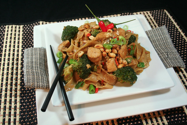 Spicy Peanut Chicken Noodles-1