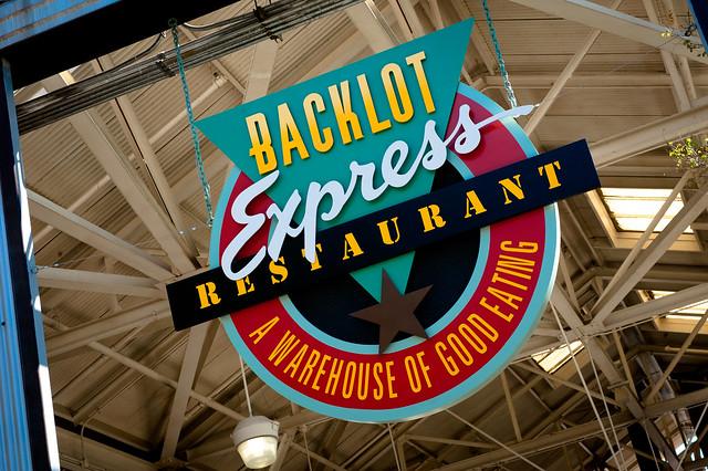 Backlot Express Restaurant  - Disney's Hollywood Studios