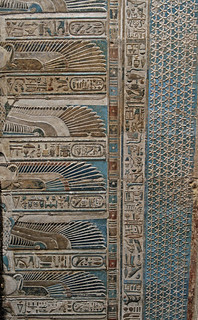 Ceiling at Dendera Temple 2 | by ruthhallam