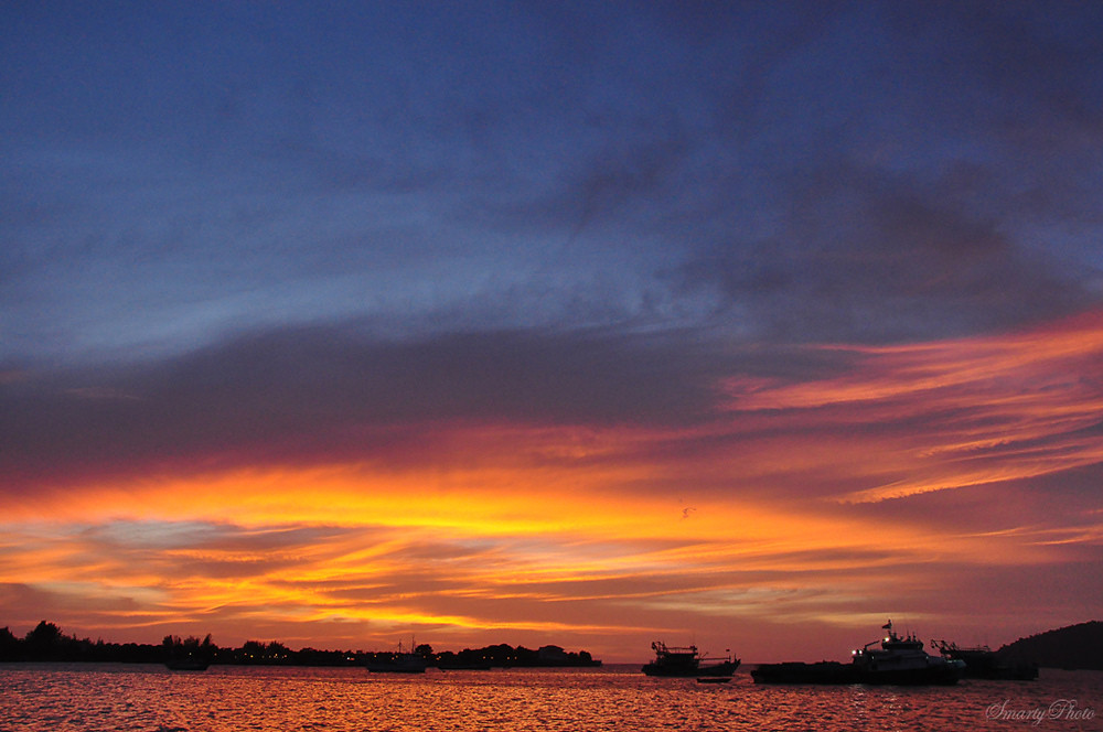 Sunset Kota Kinabalu Out Of Cam Only Size Changed And Sig Flickr