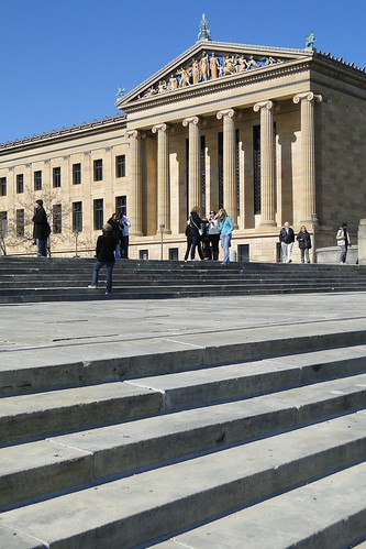"Philadelphia Museum of Art with the ""Rocky Steps"" - Philadelphia - Pennsylvania - 02 | by Adam Jones, Ph.D. - Global Photo Archive"