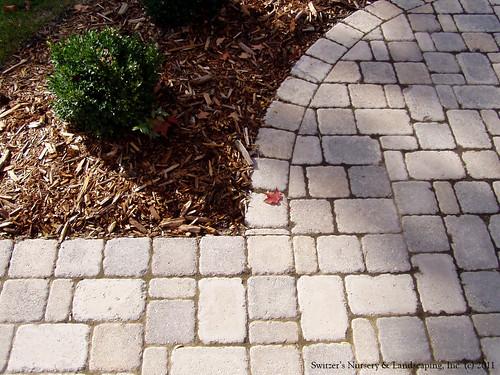 Interlocking Paver Patio & Sidewalk for front of residence