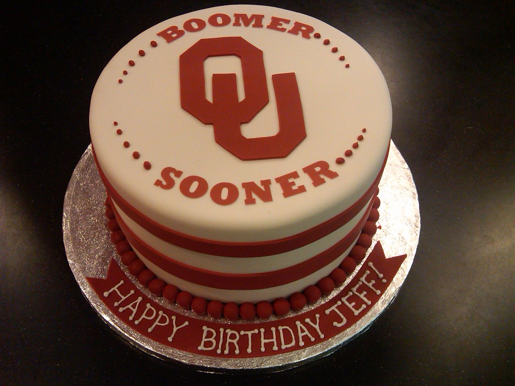 Ou Sooners Cake April Flickr