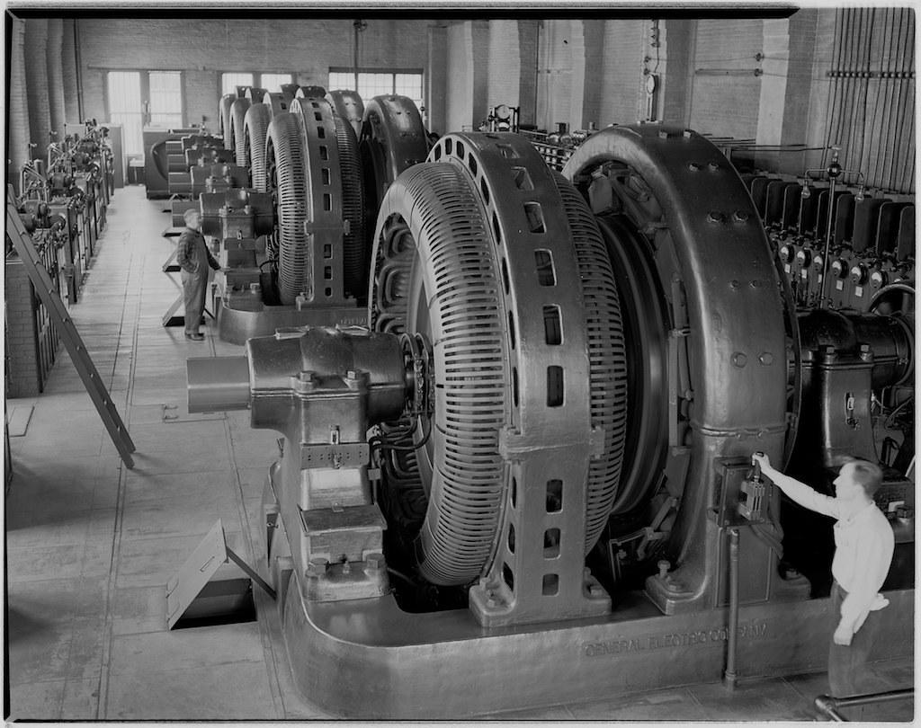 Muni Power Turk Street Substation- 1948, X1546 by SFMTA Photo Archive