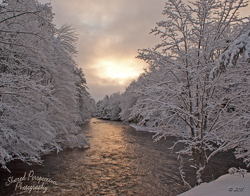 winter snow cold water clouds sunrise river maine limerick sonya200 littleossipeeriver sharedperspectivesphotography