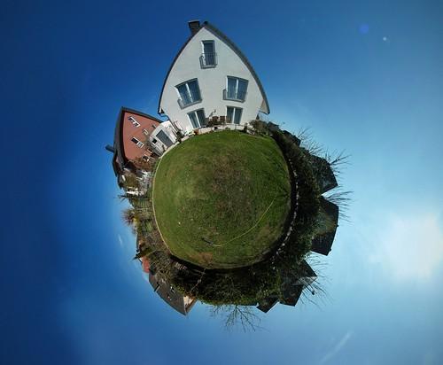 Backyard little planet | by mm3d