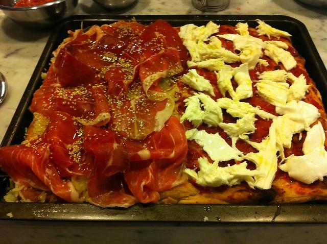 Bonci's Pizza Class at Tricolore Monti