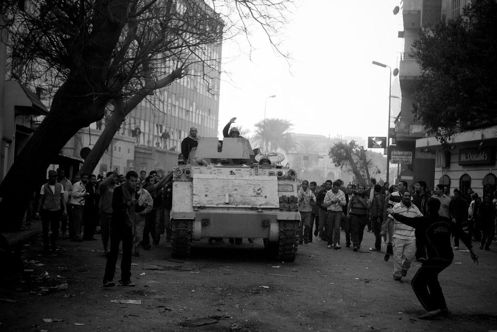 The Battle for Lazoughli Square محاولات الزحف على وزارة الداخلية