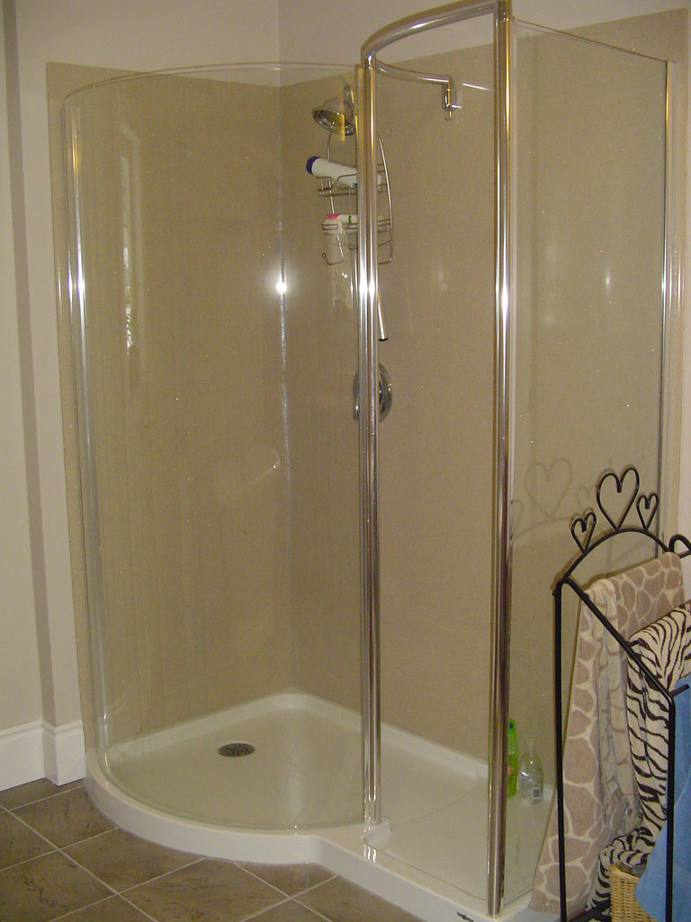 walk in shower no door