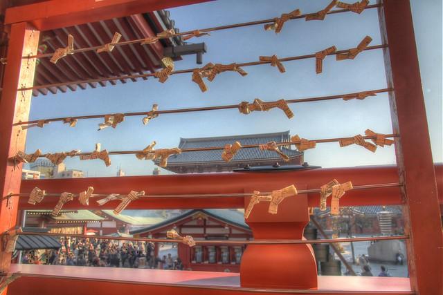 Setsubun Wishes in Asakusa