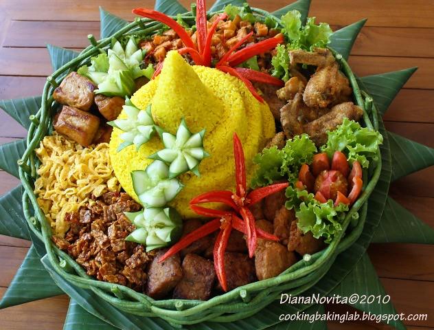 Tumpeng Nasi Kuning Diana Novita Flickr