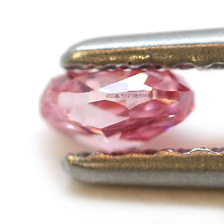 Fancy Vivid Purplish Pink Diamond by Leibish & Co