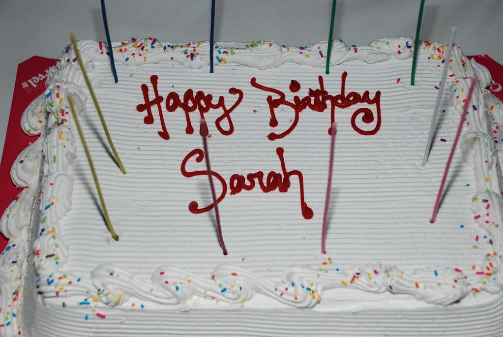 Magnificent Happy Birthday Sarah Carvel Ice Cream Cake Yummy Joe Funny Birthday Cards Online Necthendildamsfinfo