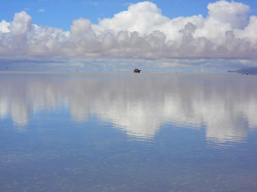 солна равнина в Боливия
