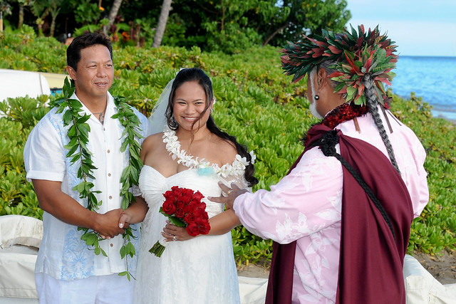 Traditional Hawaiian Wedding