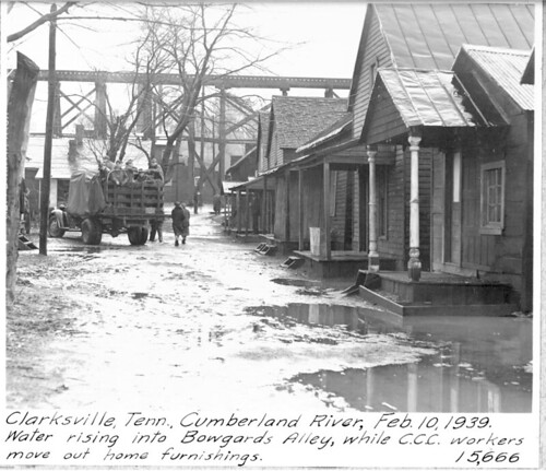 Abandoned Places In Battle Creek Michigan: Cumberland River Flood 1939 - Clarksville, Tennessee