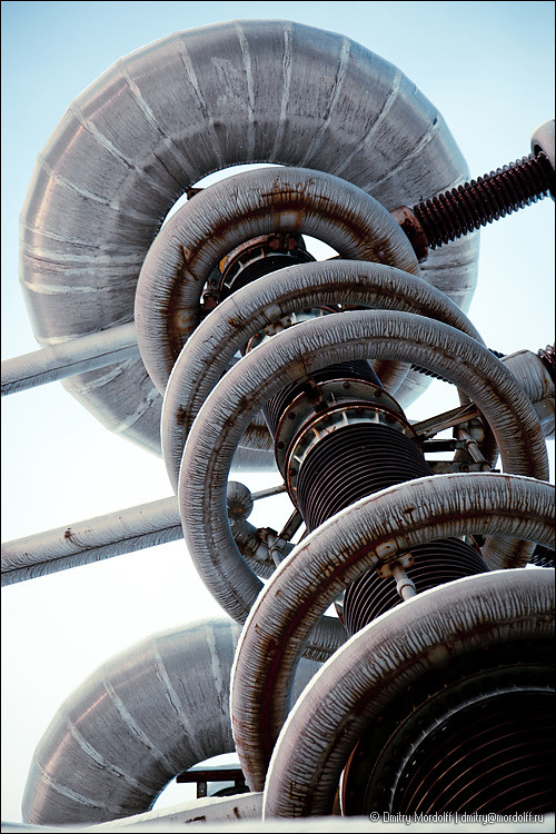 Part of High Voltage Research Installation