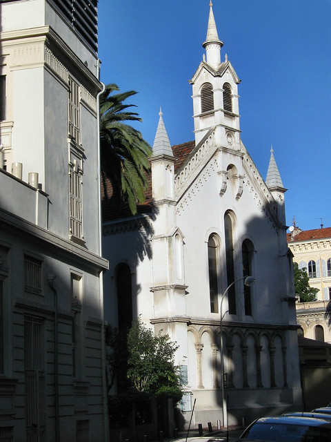 Nice - Eglise Protestante/Tradition Lutherienne