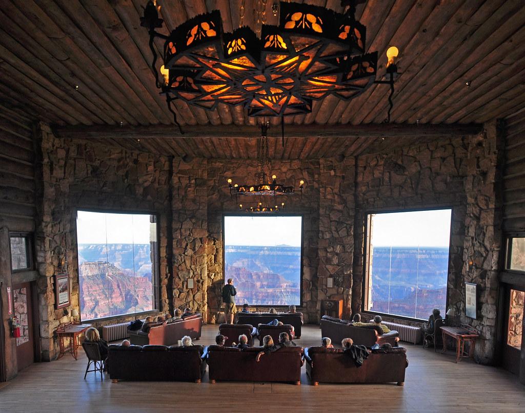 Grand Canyon Lodge North Rim 0093 In The Sun Room Grand Ca Flickr