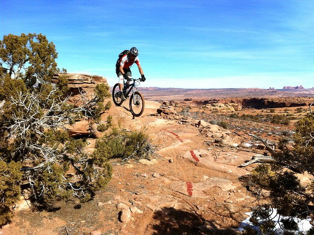 Moab Brands Bike Trails, Moab, Utah, USA