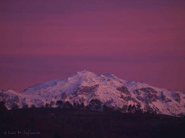 Historias de un ventana III- Atardecer en rosa - Pink Sunset