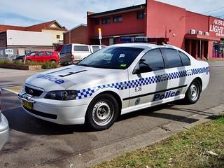 2003 Ford BA Falcon XT - NSW Police
