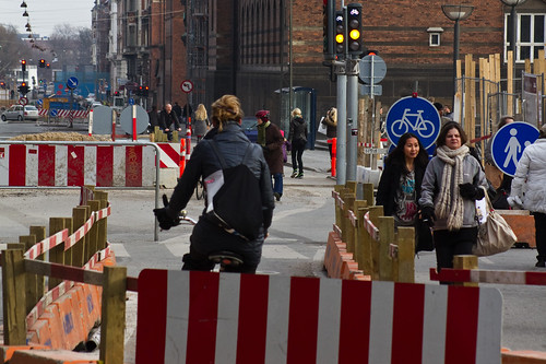 Roadworks Cyclists | by Mikael Colville-Andersen