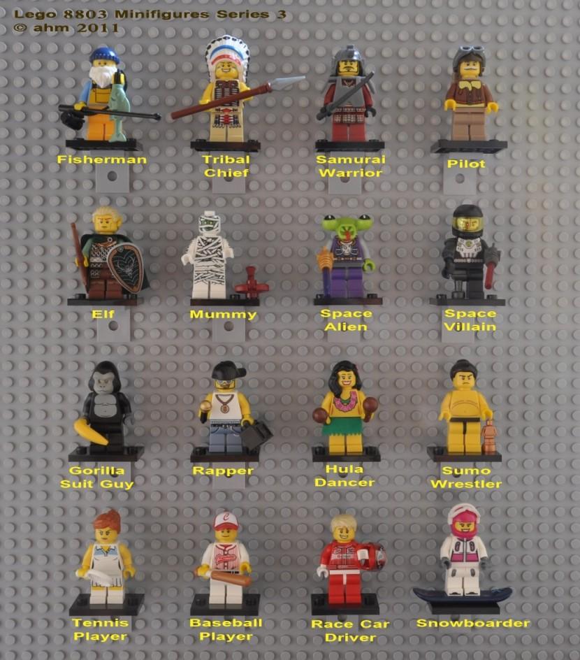 Baukästen & Konstruktion Lego Minifigure Series 3 Space Villain Complete LEGO Bau- & Konstruktionsspielzeug