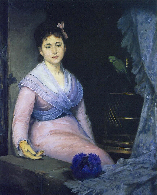 Eva Gonzalès 1871-72 Indolence 1c - pc Ath