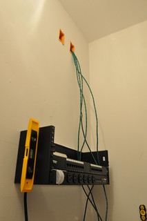 Wiring Closet Beginning | by scurker