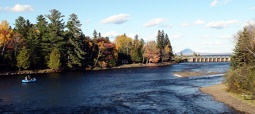East Outlet in October   by Maine River Guides