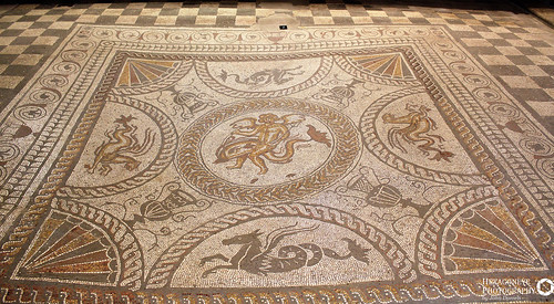 92/365 Fishbourne Roman Palace - Cupid on a Dolphin Large | by Hexagoneye Photography