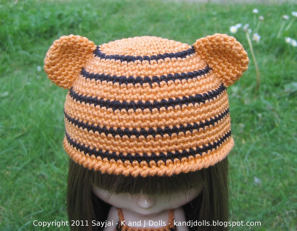 Tiger Crochet Applique Pattern | 797x1023