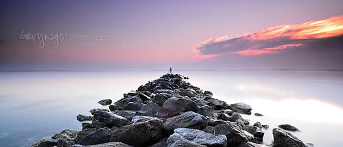 longexposure sky usa lighthouse seascape rock clouds sunrise nikon maryland filter nd 1224mm f4 hitech sandypointstatepark d7000