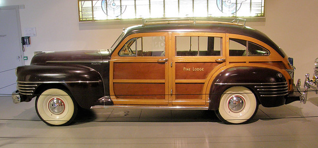 1942 Chrysler Town & Country 'Barrel Back' Station Wagon