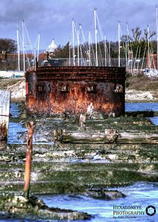 Hayling Rusty Swing Bridge | by Hexagoneye Photography