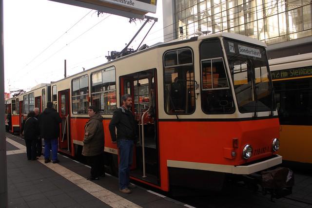 Historische Berliner Straßenbahnen (1)