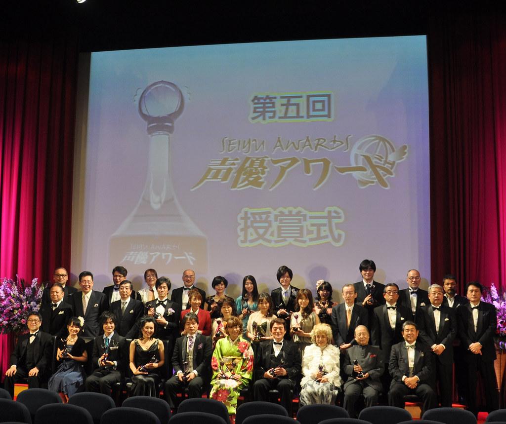 110305 -『第5回聲優獎[Seiyu Awards]』頒獎典禮:「豊崎愛生」勇奪最佳女主角、最佳男主角首次從缺。