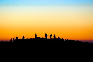 Sunrise over the summit | by b.heliker