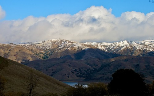 Clouds And Snow Over Calaveras Range (4) | by CDay DaytimeStudios w /1.5 Million views