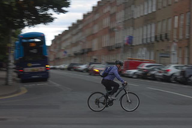 Dublin ciclist.